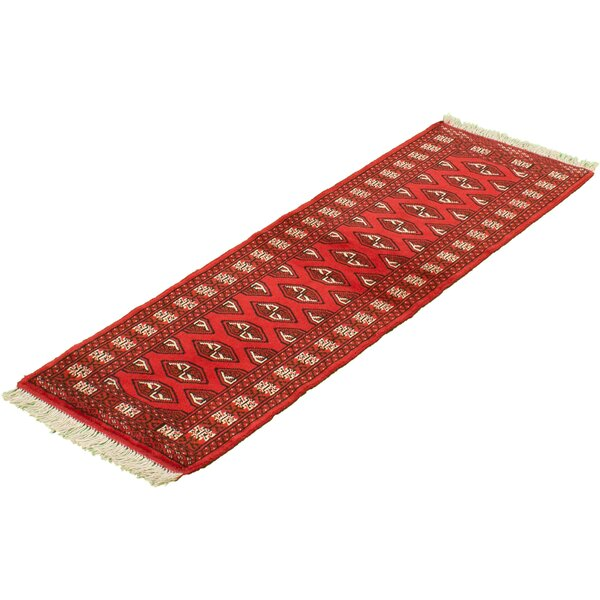 Aelita Hand Knotted Wool Red/Brown Rug
