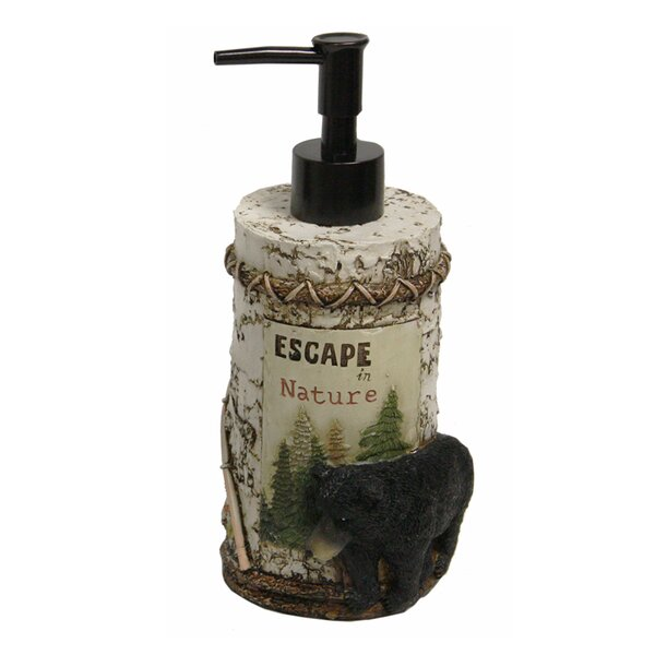 Vintage Outdoors Lotion Dispenser by Bacova Guild