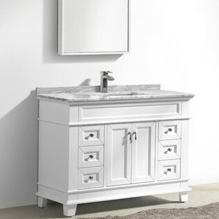Bryton 47 Single Bathroom Vanity Set by Charlton Home