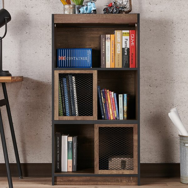Odegaard Standard Bookcase by Williston Forge