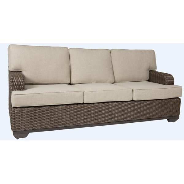 Kovacs Patio Sofa with Cushion by Bayou Breeze