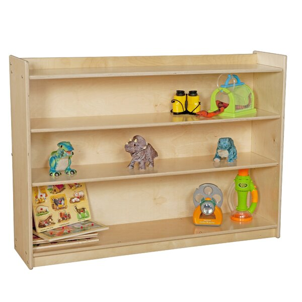 Clarendon 3 Compartment Shelving Unit with Casters by Symple Stuff