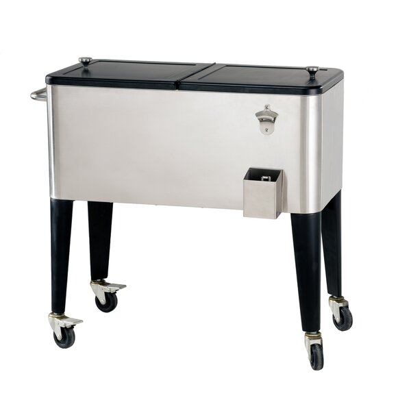 80 Qt. Polar Rolling Cooler by Sunjoy