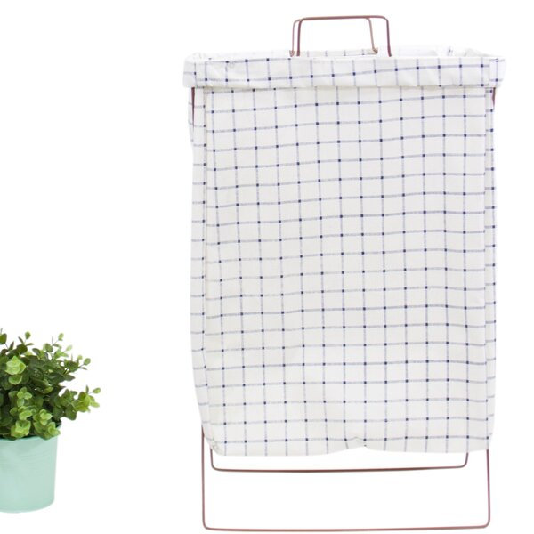 Wire Fold Laundry Hamper by Ebern Designs