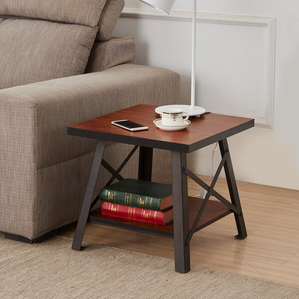 Lackey End Table (Set of 2) by Williston Forge