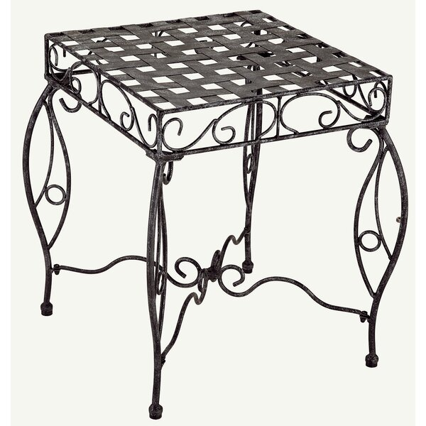 Abbottsmoor Iron Patio Side Table by Darby Home Co
