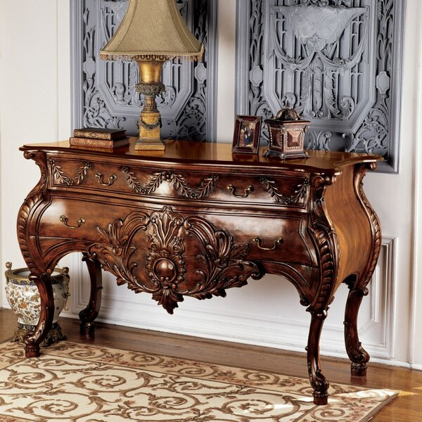 Design Toscano Brown Console Tables