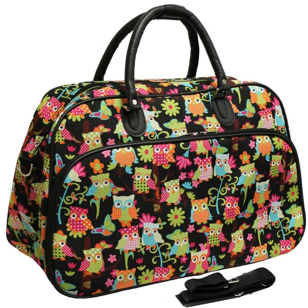 Owl 21 Carry-On Duffel by World Traveler