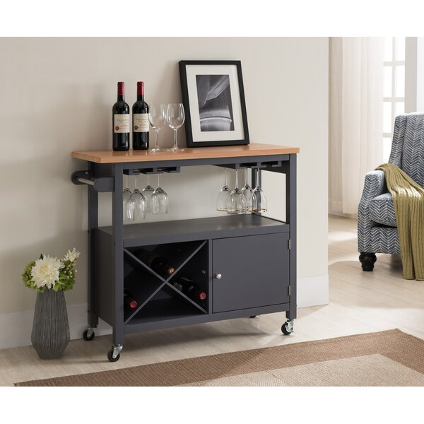 Spiegel Kitchen Cart by Charlton Home