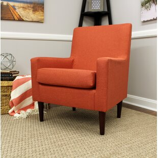 Perfect Orange Accent Chair Style