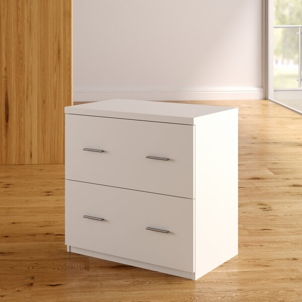 Magdalena 2 Drawer Lateral File Cabinet by Latitude Run