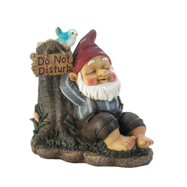 Do Not Disturb Gnome by Zingz & Thingz