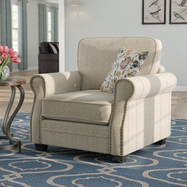 Alcalde Transitional Armchair by Darby Home Co