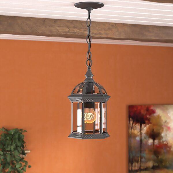 Bunker Hill 1-Light Lantern Pendant by Alcott Hill