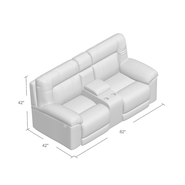 Radcliff Reclining Loveseat by Darby Home Co