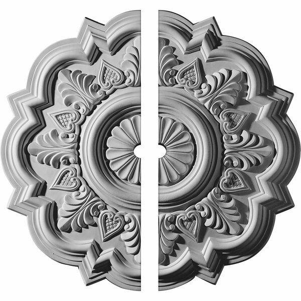 Deria Ceiling Medallion by Ekena Millwork