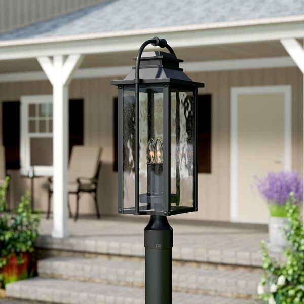 Shekar Traditional 3-Light Lantern Head by Gracie Oaks