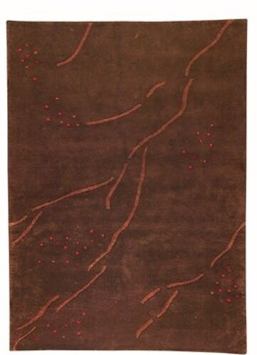 Raleigh Path Brown Area Rug by World Menagerie
