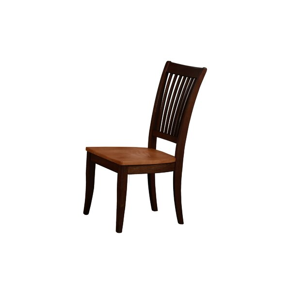 Mcdonell Solid Wood Dining Chair (Set of 2) by Alcott Hill