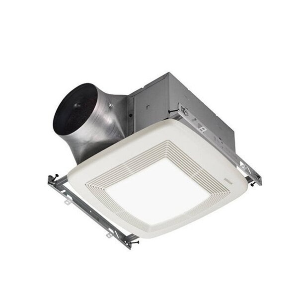 80 CFM Bathroom Fan with Light by Broan