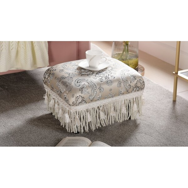 Heberling Ottoman by Astoria Grand