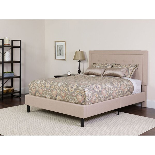 Karissa Upholstered Platform Bed with Mattress by Charlton Home