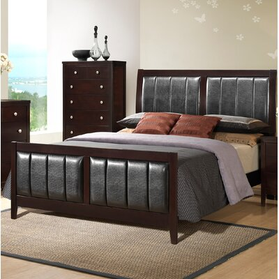 callicoat upholstered panel bed - Recessed Panel Bedroom 2015