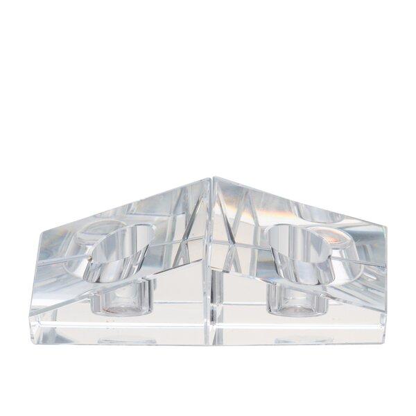 Glass Votive Holder by House of Hampton