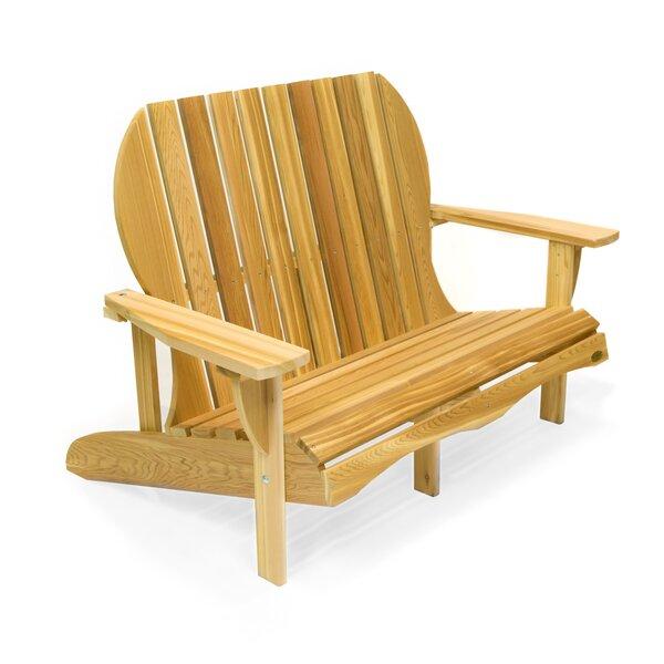 Western Red Cedar Solid Wood Adirondack Chair by All Things Cedar