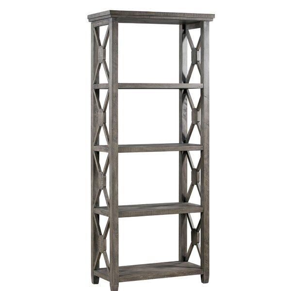 Poar Recycled Pine Etagere Bookcase By Gracie Oaks