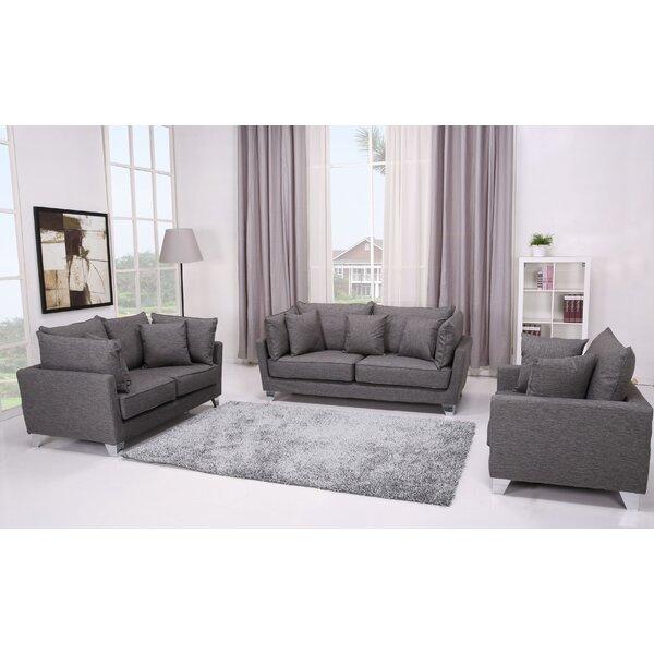 Lexington 3 Piece Living Room Set by Gold Sparrow