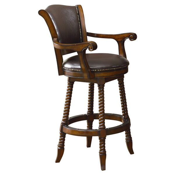 Falco 29 Swivel Bar Stool by Darby Home Co