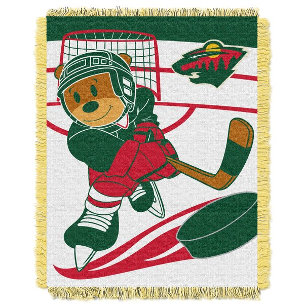 NHL Wild Baby Woven Throw Blanket by Northwest Co.