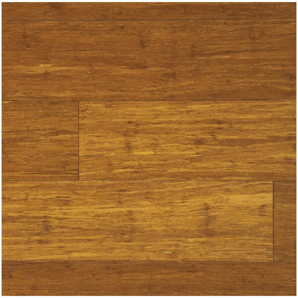 5 Engineered Strand Woven Bamboo  Flooring in Caramel by Easoon USA
