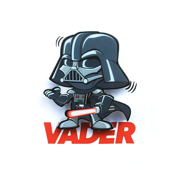 3D Vader Mini Deco 2-Light Night Light by 3D Light FX