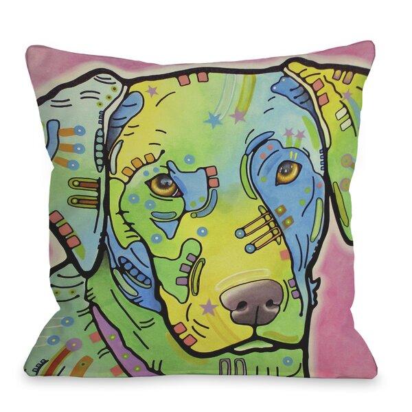 Doggy Décor Labrador Throw Pillow by One Bella Casa