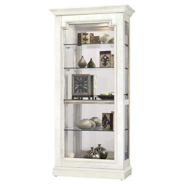 Bremerton Lighted Curio Cabinet by Darby Home Co