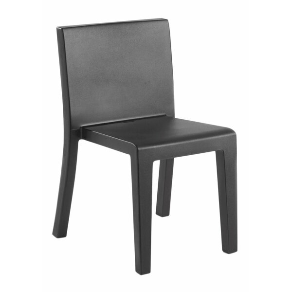 Jut Stacking Patio Dining Chair by Vondom