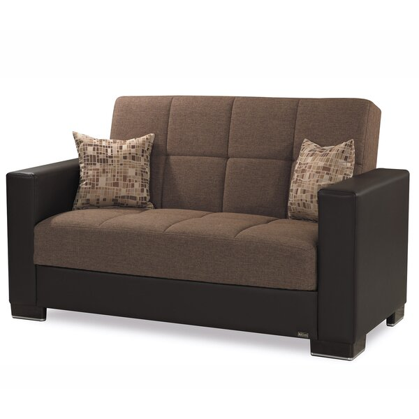 Eyota Upholstery Loveseat by Ebern Designs