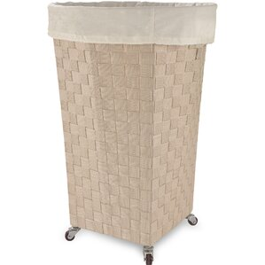 linden round laundry hamper