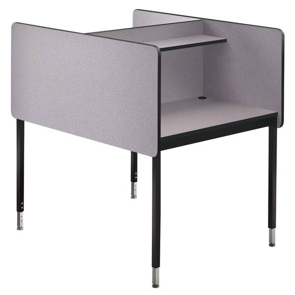 Manufactured Wood 46.25 Study Carrel by Smith Carrel