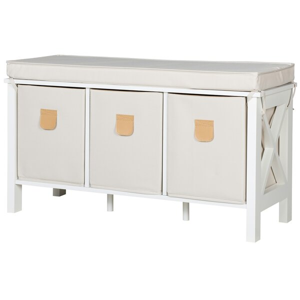 Country MDF Storage Bench by Phoenix Group AG