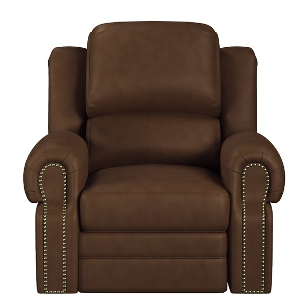 Hilltop Leather Manual Recliner by Westland and Birch Westland and Birch