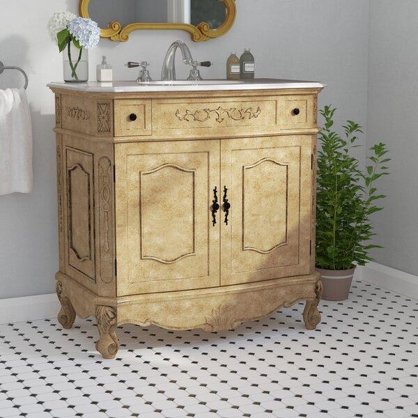 Anzavia 36 Single Bathroom Vanity Set