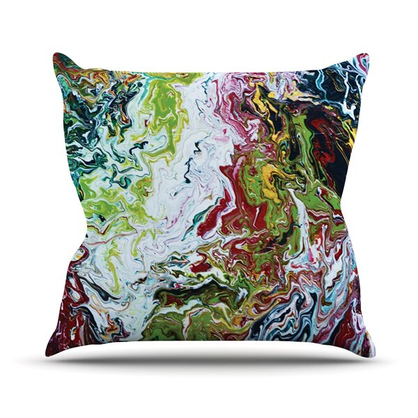 Outdoor Throw Pillow by East Urban Home