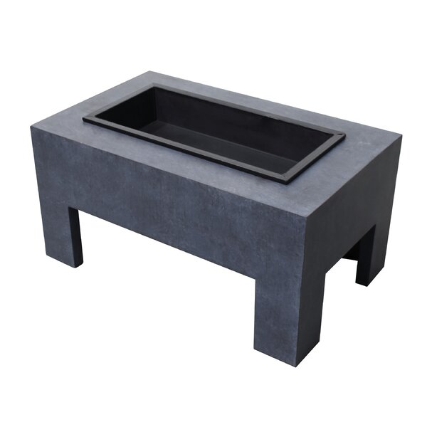 Monolith Steel Wood Burning Fire Pit by Astella