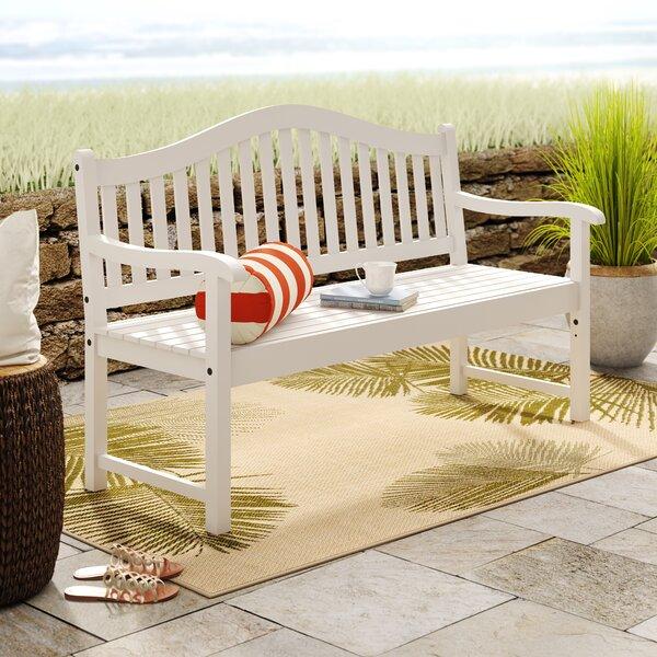 Enright Wooden Garden Bench by Breakwater Bay