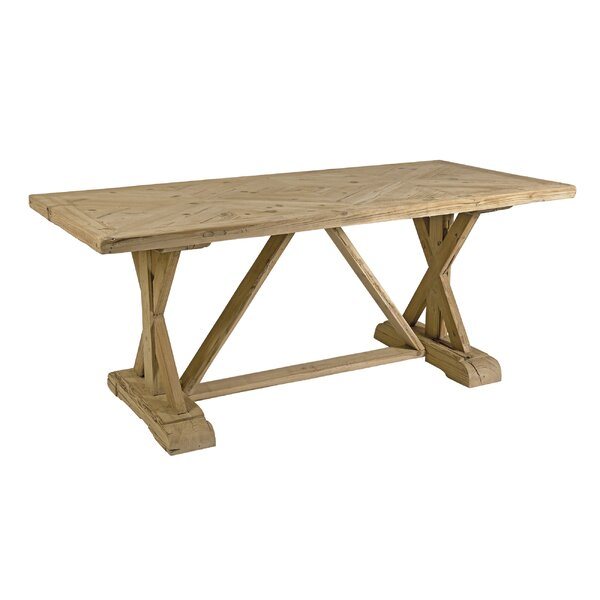 Alrik Trestle Dining Table by One Allium Way