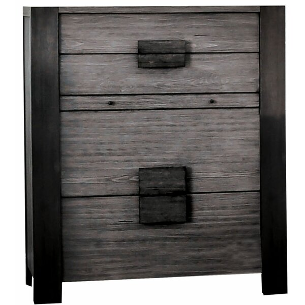 Alrai Wooden 4 Drawer Chest by Ebern Designs