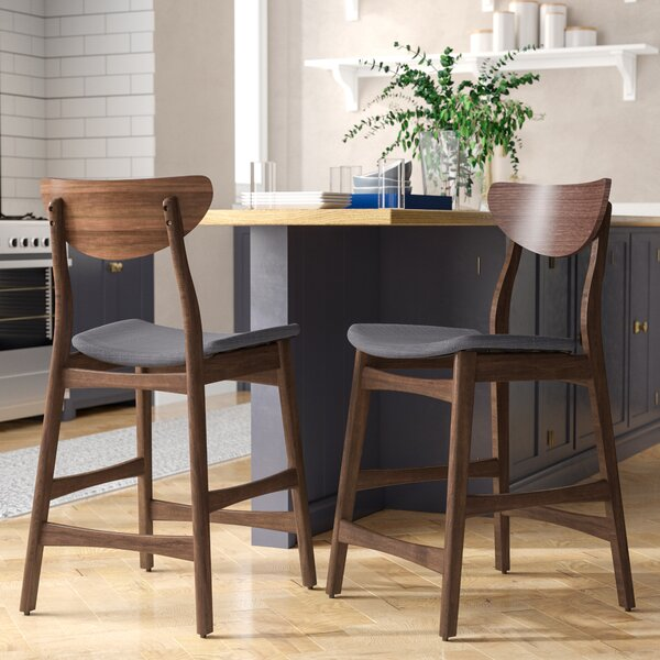 Laceyville 24 Bar Stool (Set of 2) by Wade Logan
